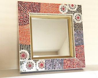 BERRIES Mosaic mirror