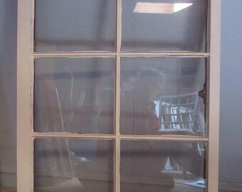 "Wooden Window 23"" x 32"""