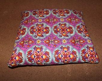 Pink Mandala Aromatherapy heat/cool bag! 100% Vegan organic wheat pack.