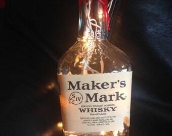 Maker's Mark Wiskey Bottle