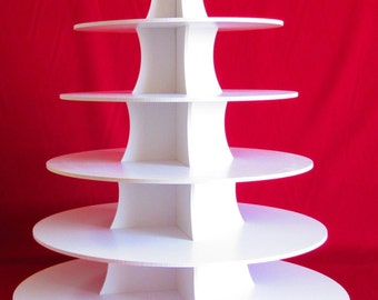 6 Tier Cupcake Stand Round