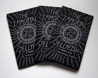 The Immortal Jellyfish, Silk Screened Glow-In-The-Dark Zine
