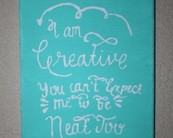 Canvas Art Quote