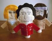Royal Tenenbaum Finger Puppets - Free shipping!