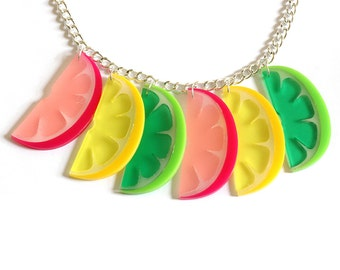 Citrus Necklace