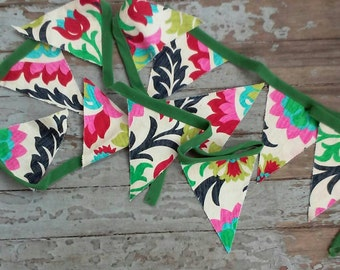 Floral Wall Bunting or Garland