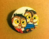 Owl small Brooch