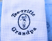 GOLF Towel Embroidered with Golf Design Large Quick Drying Towel (1)
