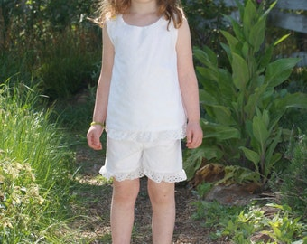Girl's SunTop and Shorts Set