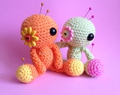 Made to Order - Amigurumi Custom Flower Voodoo Doll
