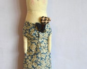 Nella - a Large Cloth art doll