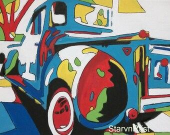 Farm Truck PRINT 8x10