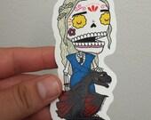 Daenerys Targaryen Die Cut Vinyl Sticker Day of the Dead