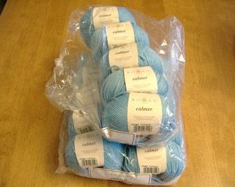 Rowan 'Calmer' ~ Stretch Cotton All Season Yarn ~ Discontinued ~ Two Lots Available