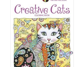Creative Cats Coloring Book • Dover Publications Coloring Book • Creative Cats Colouring Book (DOV-89640)