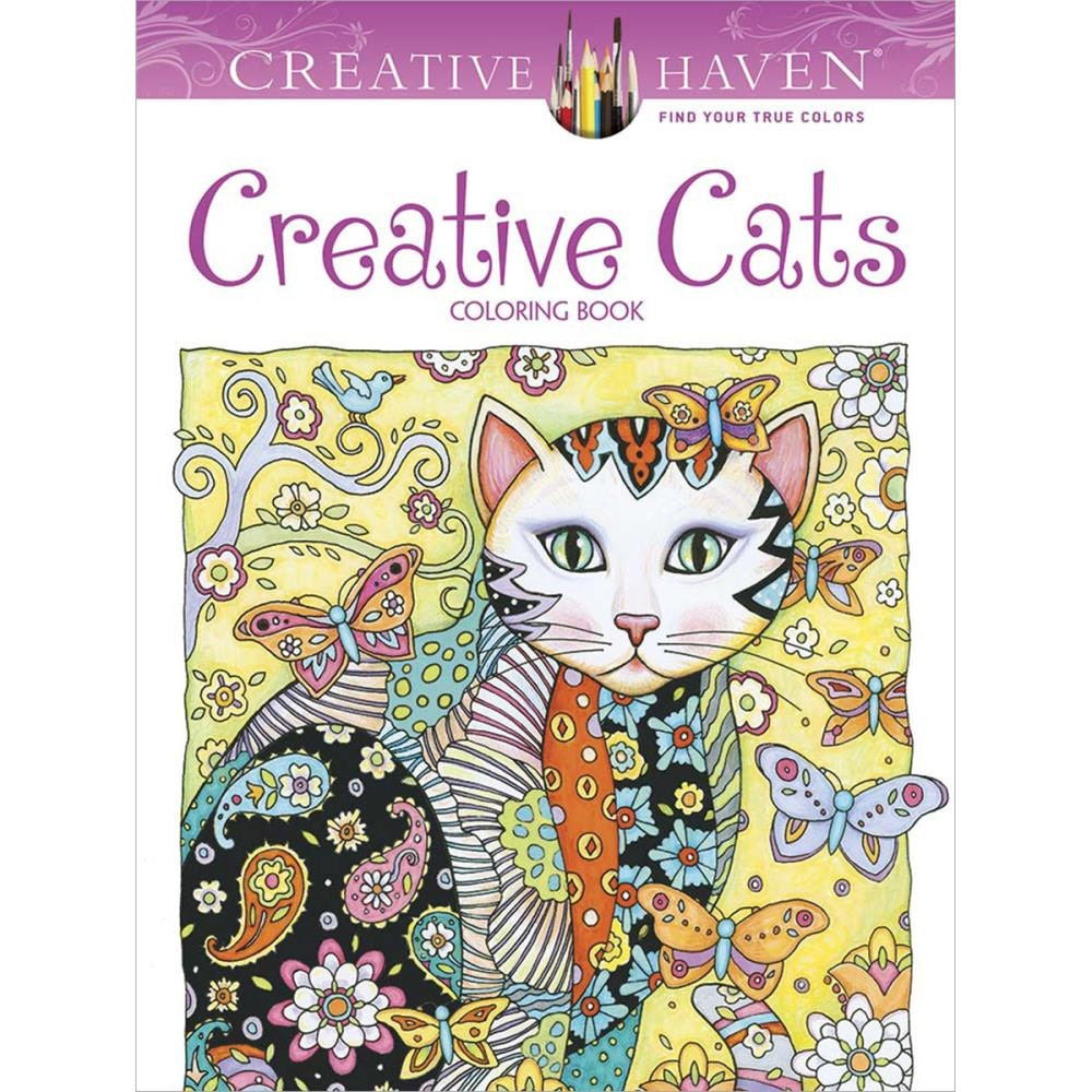 Sw swear word coloring pages etsy - Creative Cats Coloring Book Dover Publications Coloring Book Creative Cats Colouring Book Dov 89640
