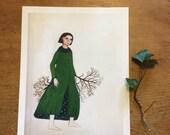 Art Print, New Growth, change, branching
