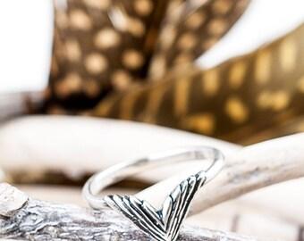 Take Flight Ring | Nature Inspired |  Silver Ring | Statement Ring