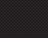 30% OFF Swiss Dots Tone on Tone Black  - 1/2 Yard