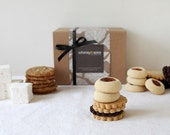 Cookie Gift Box, Herbs & Spices Cookie Sampler, Shortbreads, Cookies, Marshmallows