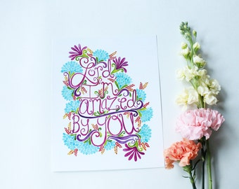 Lord I'm Amazed by You - 8x10 print
