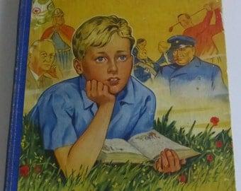 Vintage Children's Book   Boys' Book of Heroes