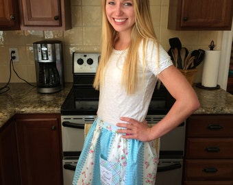 Half Apron with Scripture and Pocket