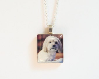 Pet Memorial Necklace - Custom Instagram Photo Necklace - Keepsake Photo Jewelry - Hipstamatic - Photo Necklace - Custom Photo Jewelry