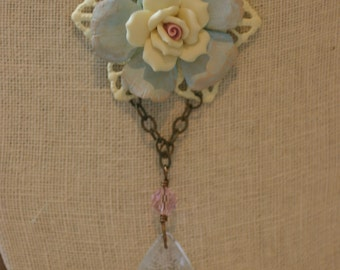 "Shabby Chic ""Grace"" Necklace"