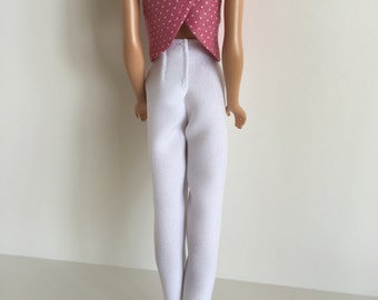 Vintage Barbie Clothes Handmade - Barbie Top Only - Mix n Match (S507)