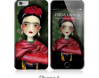Phone Case - Frida - iPhone 4 - 4S - iPhone 5 - iPhone 6 - Samsung Galaxy S5