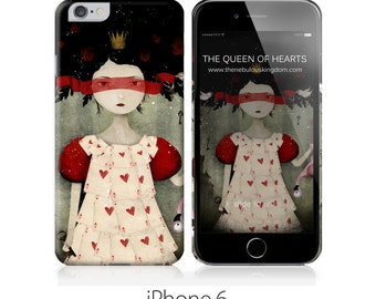 Phone Case - The Queen of Hearts - iPhone 4 - 4S - iPhone 5 - Samsung Galaxy