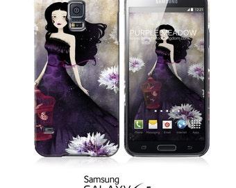 Phone Case - Purple Meadow - iPhone 5 - iPhone 6 - Samsung Galaxy