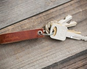 Leather Keyfob // FREE Personalization