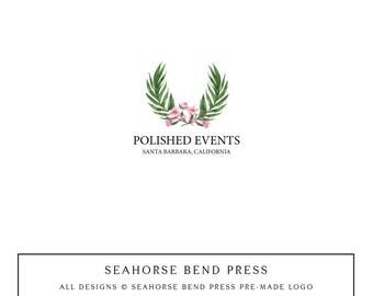 Logo Design, Pre-made Logo Identity, Small Business Branding, Wedding Logo and Branding, Polished Events (111)