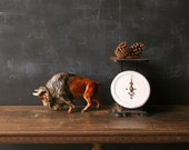 Vintage Ceramic Buffalo Recently Reduced  From Nowvintage on Etsy