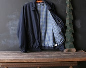 Chaps Jacket Mens Vintage Plaid Linning Steve McQueen Style From Nowvintage on Etsy