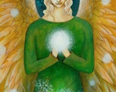 Archangel Raphael by Amanda Clark.