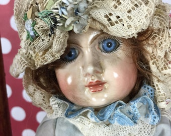 Doll- Handmade Reproduction Baby Doll
