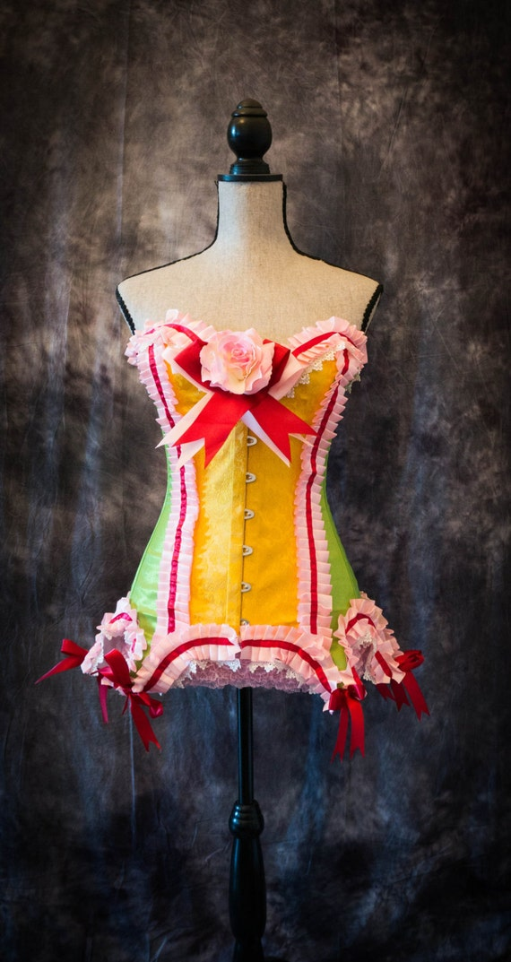 Rainbow Brite Burlesque Costume