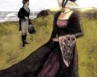 Instant Download - Marianne Print - Jane Austen - 8x10