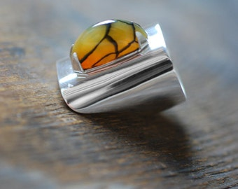 Dollybird Harvest Moon Ring