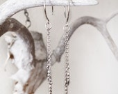 Pendulum Spike Earrings in Sterling silver