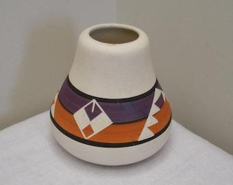 Vintage Sioux Pottery Rapid City South Dakota Pot Vase