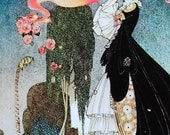 fairy tale book illustration by Kay Nielson, Rosanie or The Inconstant Prince