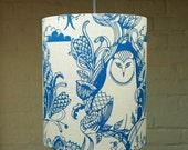 Mr Owl - Medium Drum Lampshade