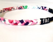 Fashion Headband, Faith and Fit Scrappy Band in Country Club Floral