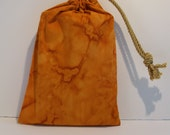 B4 - Creative Orange Batik Pouch