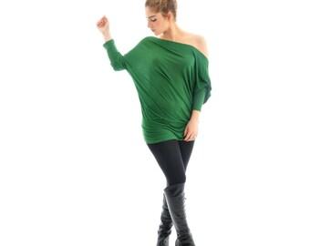 Women Yoga Top- Long yoga top, Maternity yoga tops, Plus size yoga tops/ Women yoga clothes