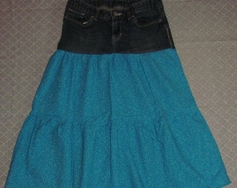 Girls Tiered Ruffle Skirt Size 14